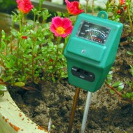 PH metru pentru sol (cu energie solara)